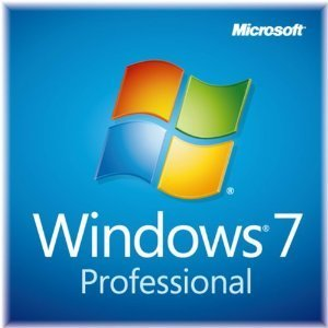 Windows 7 Professional SP1 64bit DSP�� ���i�摜
