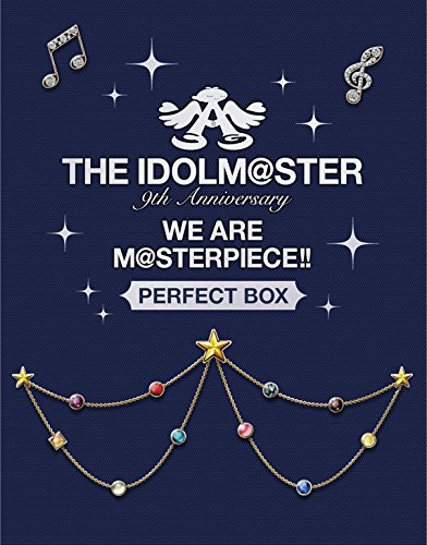 """THE IDOLM@STER 9th ANNIVERSARY WE ARE M@STERPIECE!! Blu-ray""""PERFECT BOX""""【完全生産限定】[LABX-38095/9][Blu-ray/ブルーレイ] 製品画像"""
