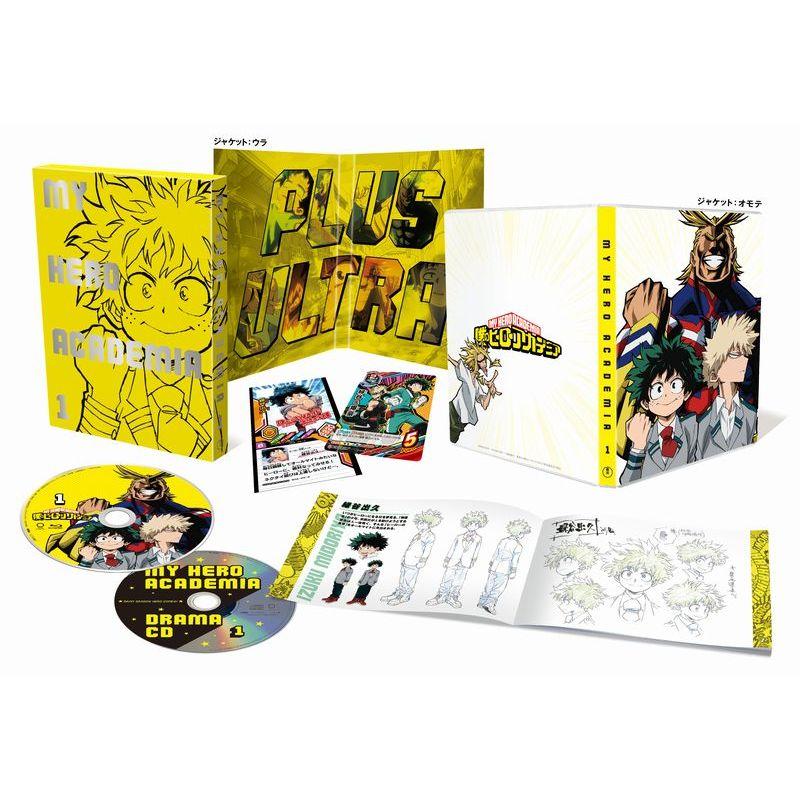 僕のヒーローアカデミア vol.1 Blu-ray[TBR-26101D][Blu-ray/ブルーレイ] 製品画像