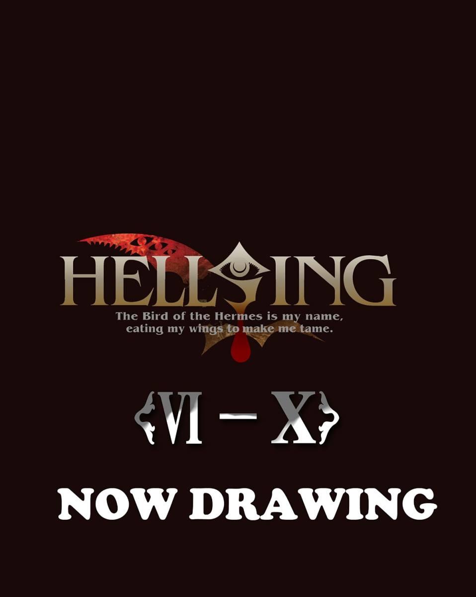 HELLSING OVA VI〜X Blu-ray BOX〈期間限定生産〉[GNXA-1104][Blu-ray/ブルーレイ] 製品画像