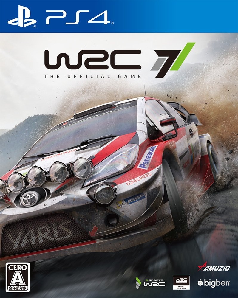 WRC 7 製品画像