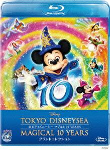 東京ディズニーシー マジカル 10 YEARS グランドコレクション[VWBS-1240][Blu-ray/ブルーレイ] 製品画像