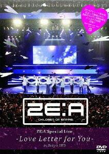 ZE:A スペシャル・ライブ-ラブ・レター・フォー・ユー-イン・トウキョウ DVD[HMBR-1074][DVD]
