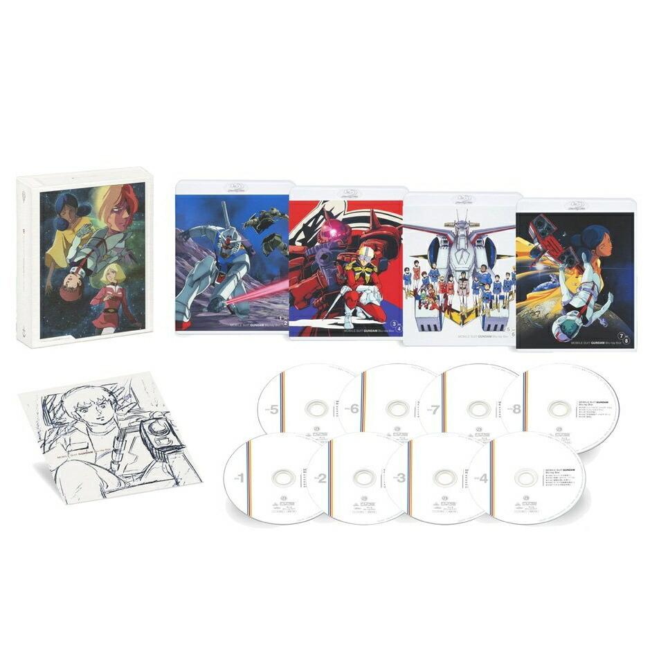 機動戦士ガンダム Blu-ray Box[BCXA-1252][Blu-ray/ブルーレイ]