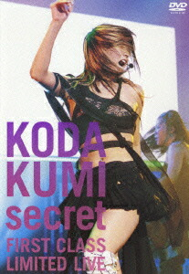 secret〜FIRST CLASS LIMITED LIVE〜[RZBD-45256][DVD] 製品画像
