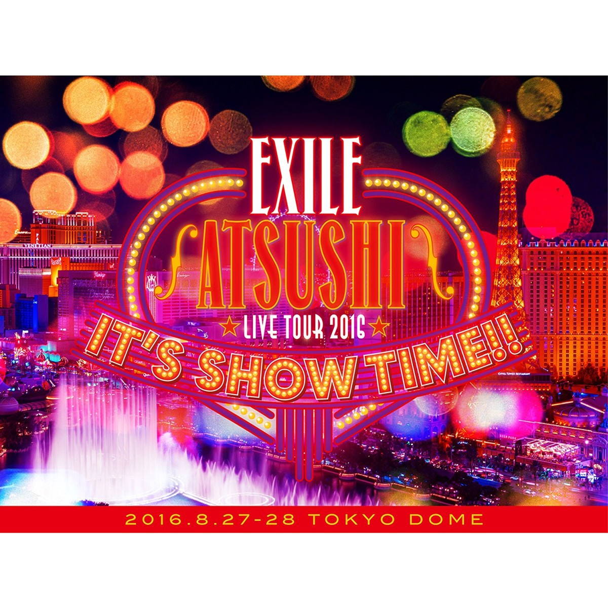 "EXILE ATSUSHI LIVE TOUR 2016""IT'S SHOW TIME!!""(豪華盤)[RZBD-86264/6][DVD]"