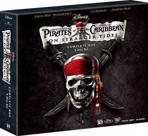 パイレーツ・オブ・カリビアン/生命の泉 アートブック付きコンプリートボックス【Blu-ray】