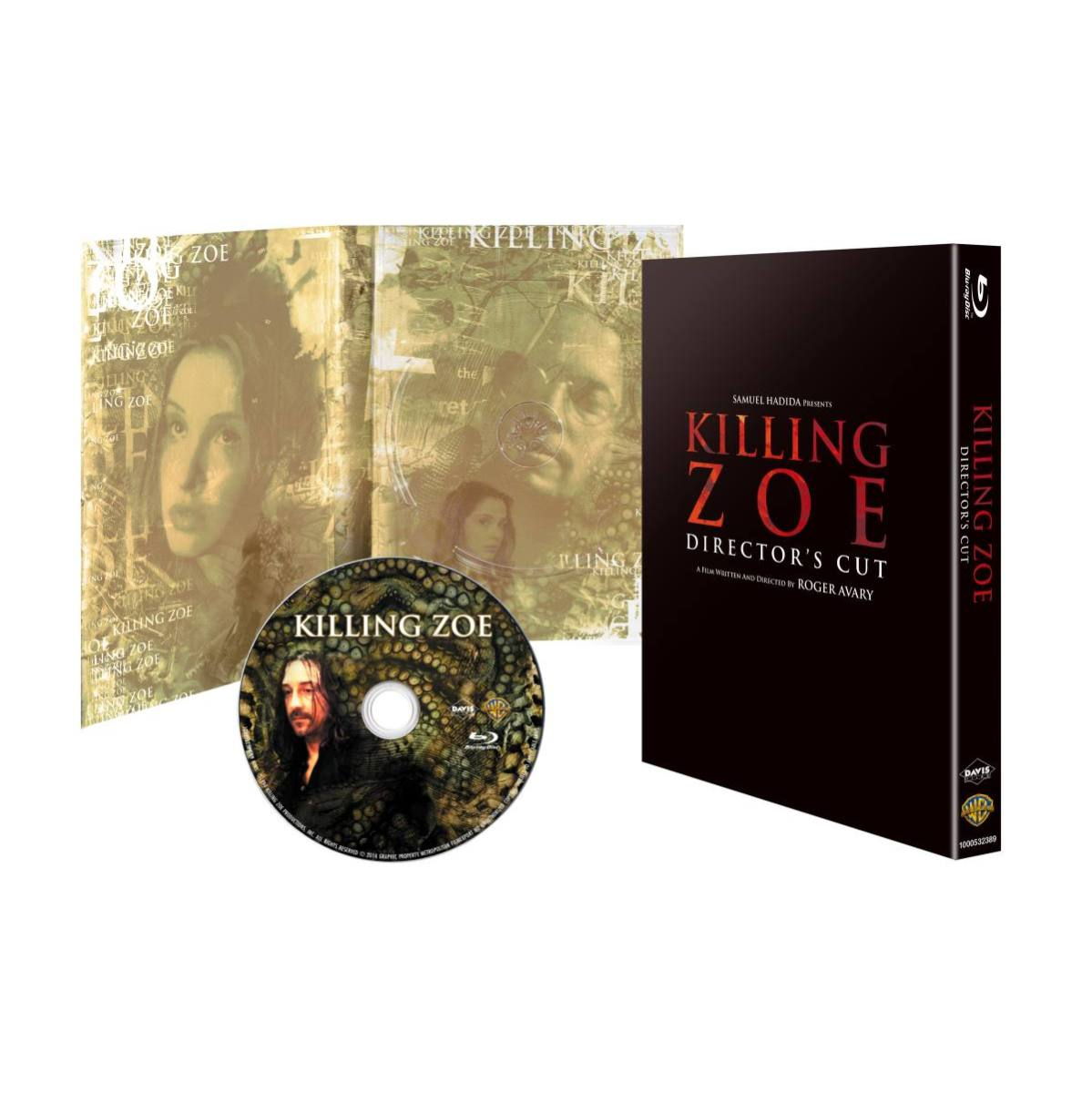 【初回限定生産】キリング・ゾーイ ディレクターズカット版 ブルーレイ[1000532389][Blu-ray/ブルーレイ] 製品画像