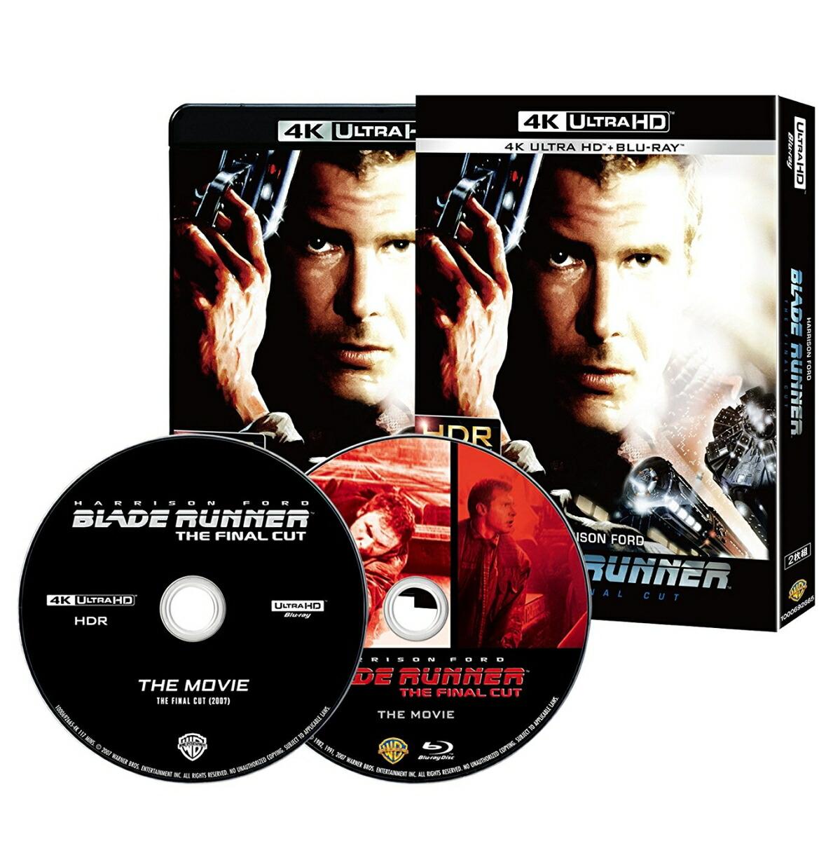 洋画 ブレードランナー ファイナル・カット<4K ULTRA HD&ブルーレイセット>[1000692665][Ultra HD Blu-ray]