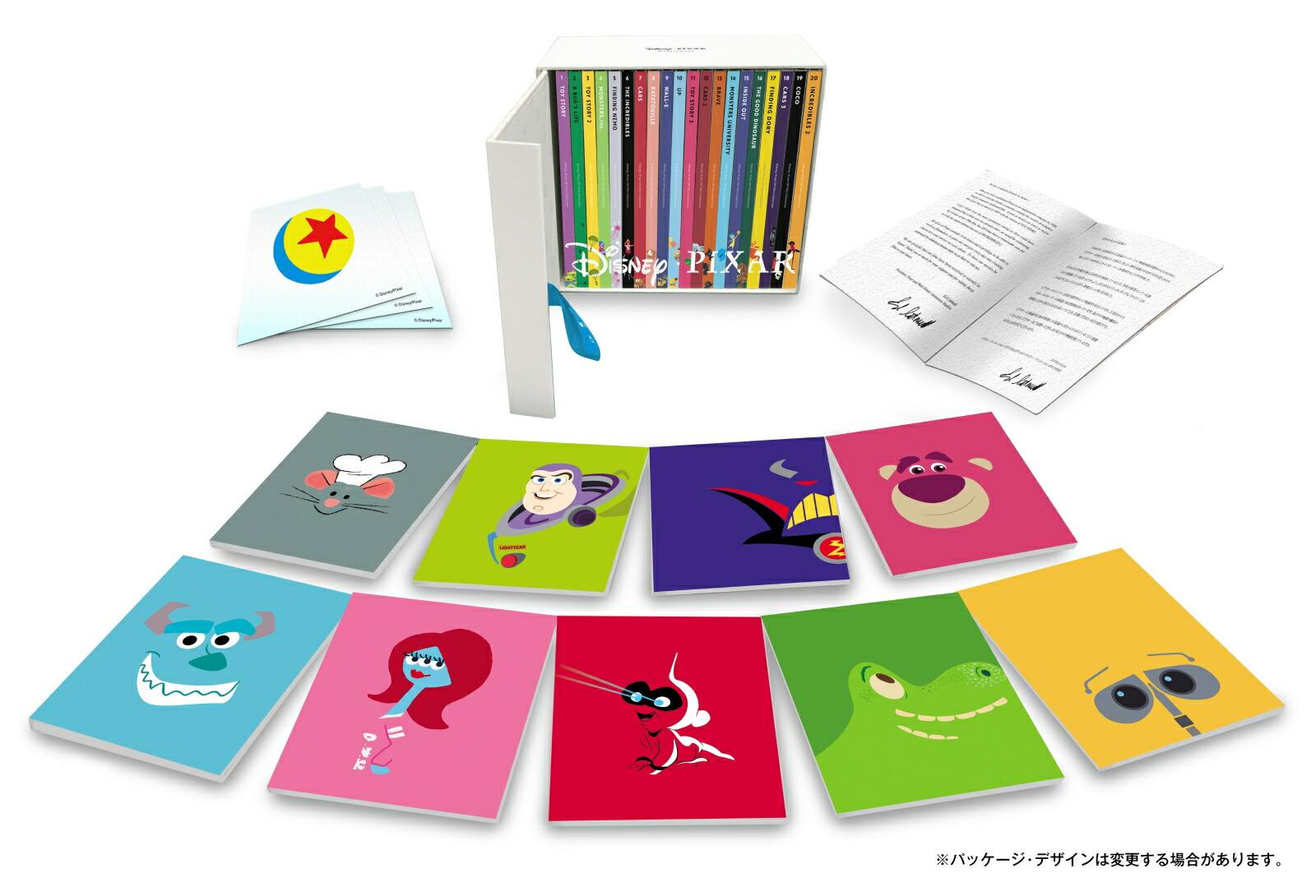 ディズニー/ピクサー 20タイトル コレクション(Blu-ray)[VWBS-6762][Blu-ray/ブルーレイ]