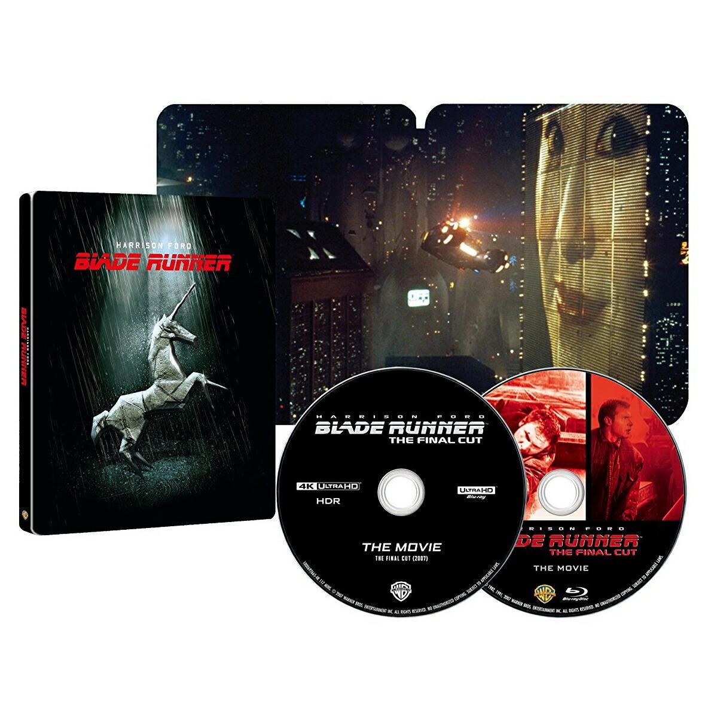 【2049セット限定生産】ブレードランナー ファイナル・カット<4K ULTRA HD&ブルーレイセット> スチールブック仕様[1000692966][Ultra HD Blu-ray]