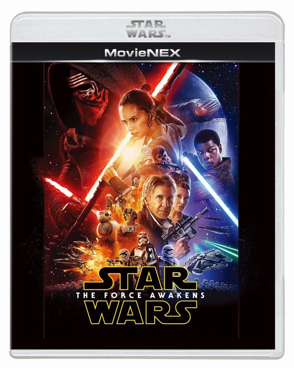 スター・ウォーズ/フォースの覚醒 MovieNEX[VWES-6295][Blu-ray/ブルーレイ]