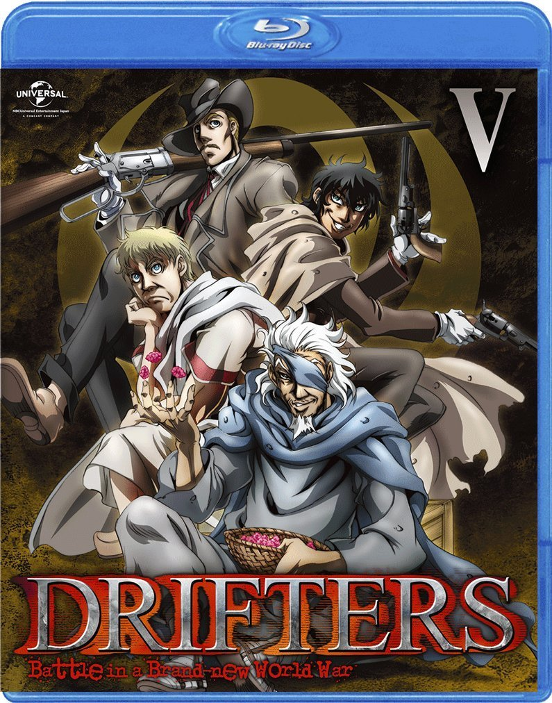 DRIFTERS 第5巻【Blu-ray】