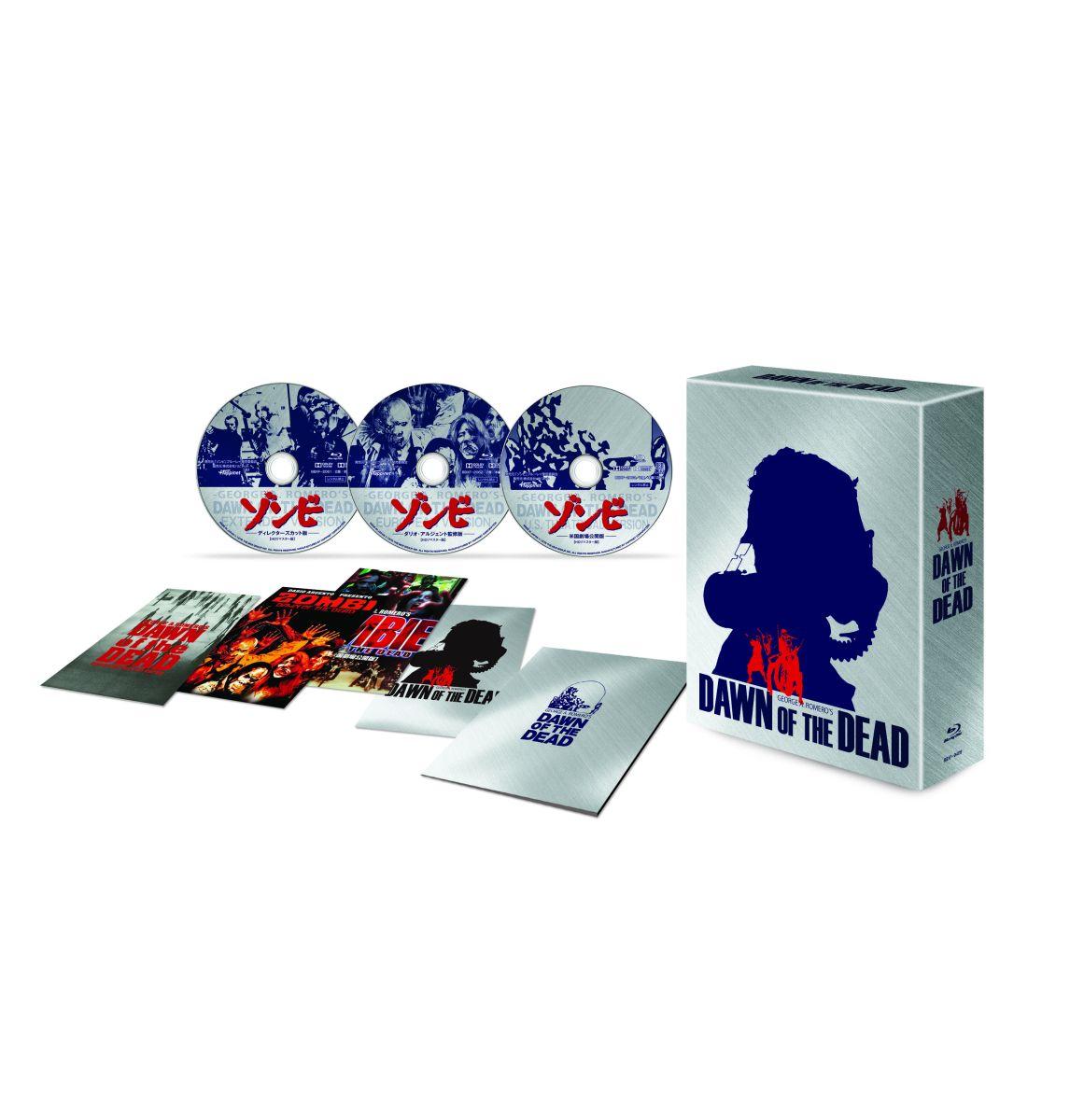 『ゾンビ』製作35周年記念究極版ブルーレイBOX[BBXF-9409][Blu-ray/ブルーレイ] 製品画像
