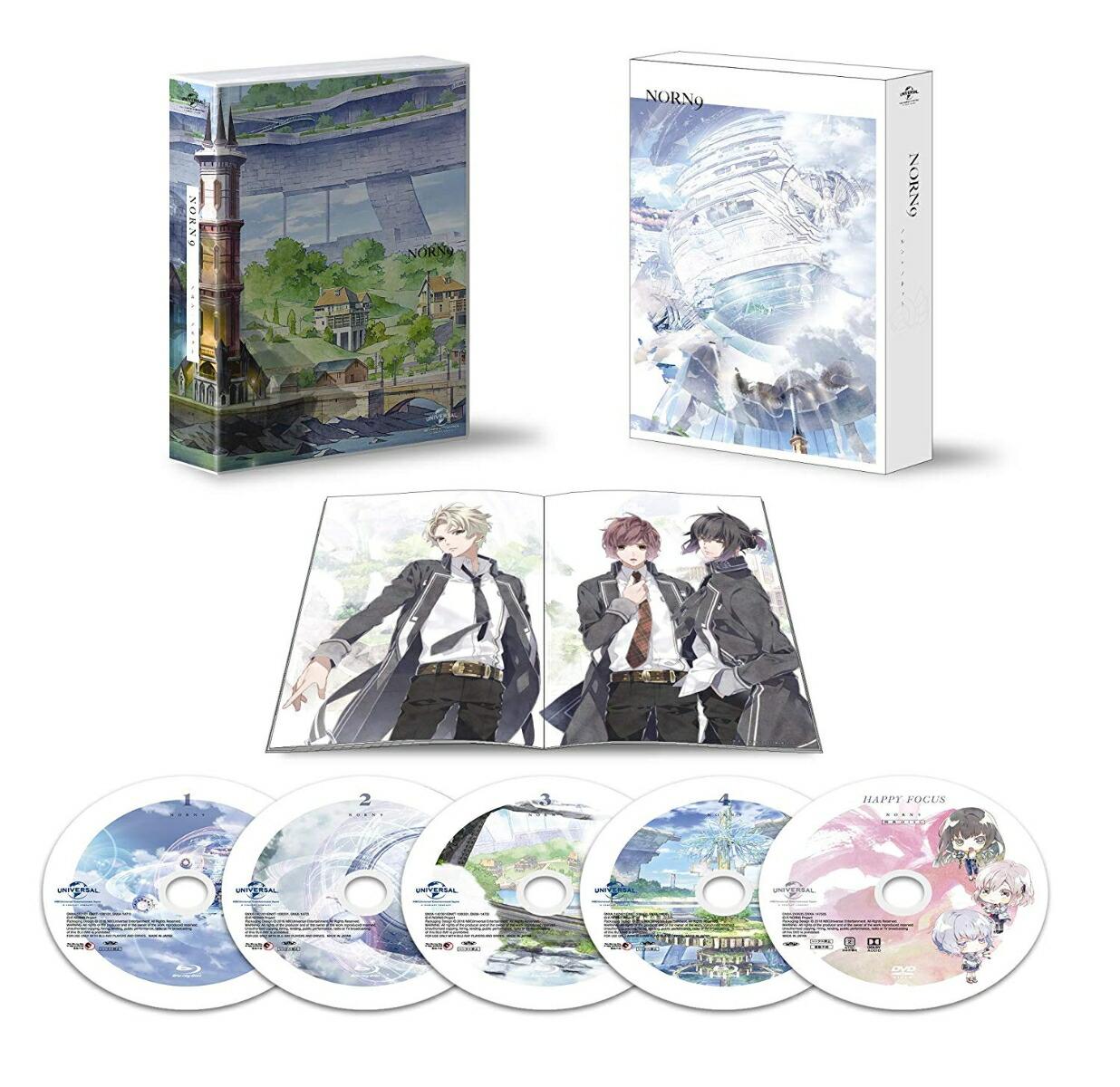 ノルン+ノネット Blu-ray BOX[GNXA-1475][Blu-ray/ブルーレイ]