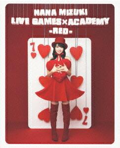 NANA MIZUKI LIVE GAMES×ACADEMY-RED-[KIXM-22/3][Blu-ray/ブルーレイ] 製品画像