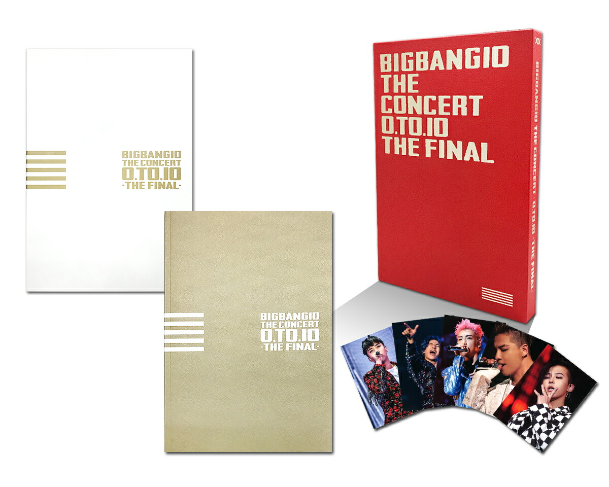BIGBANG10 THE CONCERT:0.TO.10 -THE FINAL- -DELUXE EDITION-[AVXY-58477/9/B/C][Blu-ray/ブルーレイ...