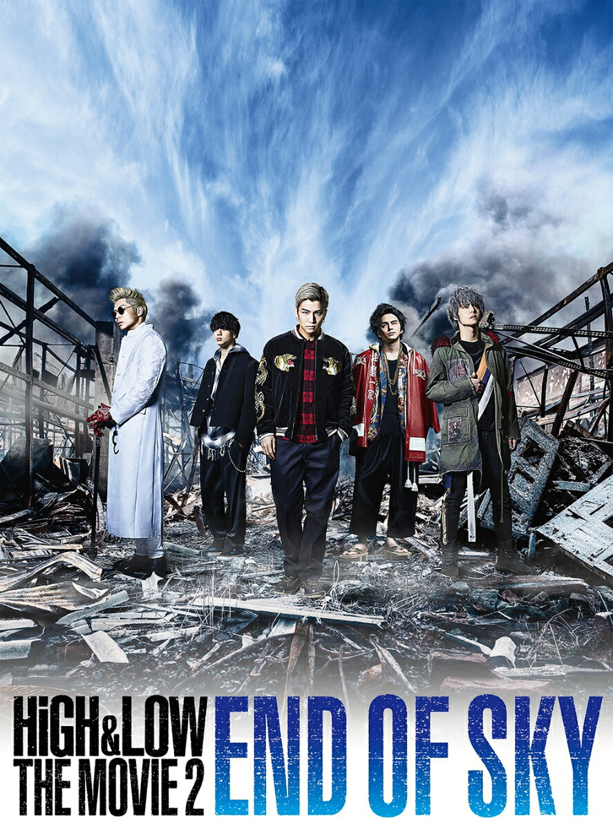HiGH & LOW THE MOVIE 2〜END OF SKY〜[RZBD-86491/2][DVD]