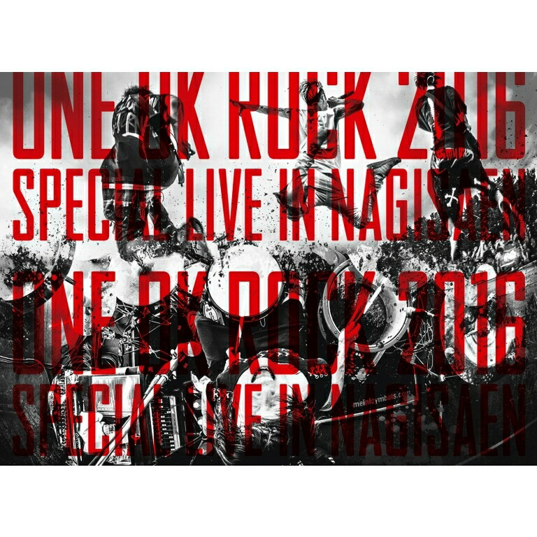 ONE OK ROCK 2016 SPECIAL LIVE IN NAGISAEN[AZBS-1040][DVD]