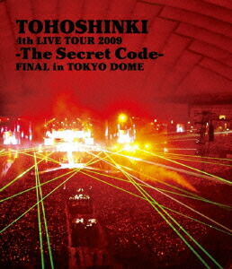 4th LIVE TOUR 2009-The Secret Code-FINAL in TOKYO DOME[RZXD-46553/4][Blu-ray/ブルーレイ]