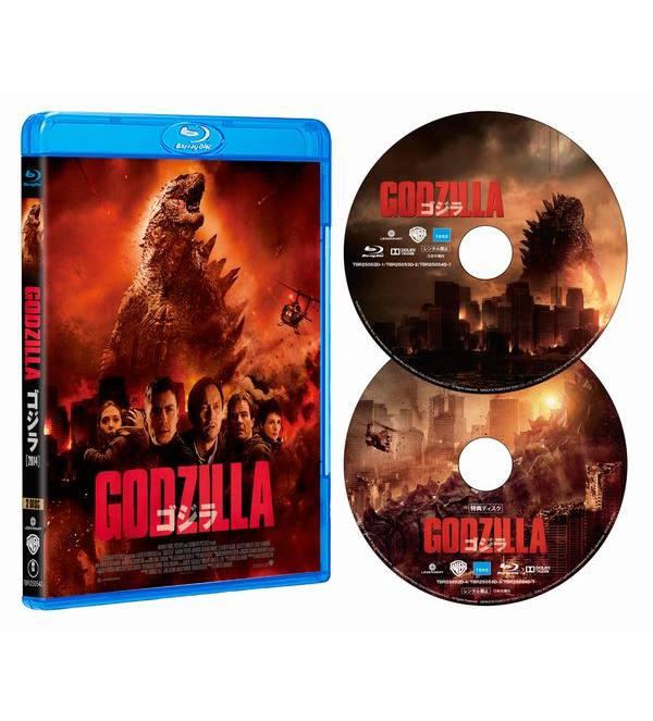 GODZILLA ゴジラ[2014]Blu-ray[TBR-25054D][Blu-ray/ブルーレイ]