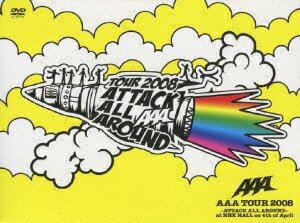 AAA TOUR 2008-ATTACK ALL AROUND-at NHK HALL on 4th of April(2枚組)[AVBD-91555/6][DVD]