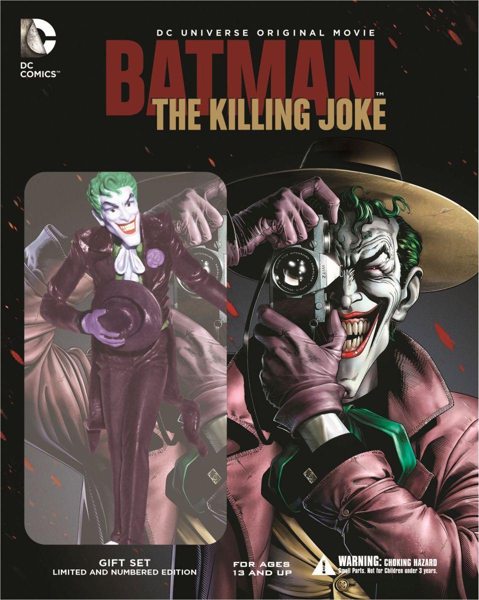 【数量限定生産】バットマン:キリングジョーク ブルーレイ<ジョーカー フィギュア付き>[1000618230][Blu-ray/ブルーレイ] 製品画像