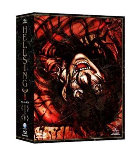 HELLSING I-V Blu-ray BOX[GNXA-1100][Blu-ray/ブルーレイ]