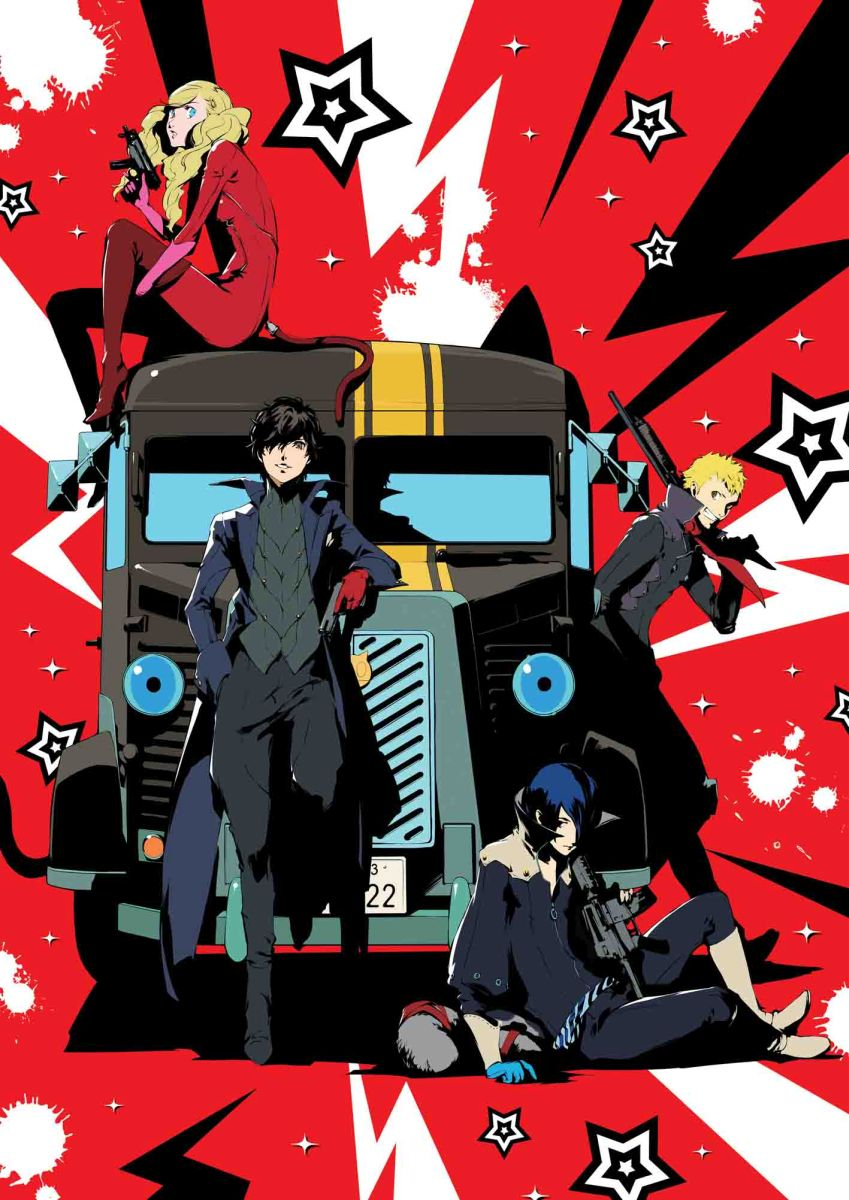 PERSONA5 The Animation -THE DAY BREAKERS-(完全生産限定版)[ANZB-11515/6][DVD] 製品画像