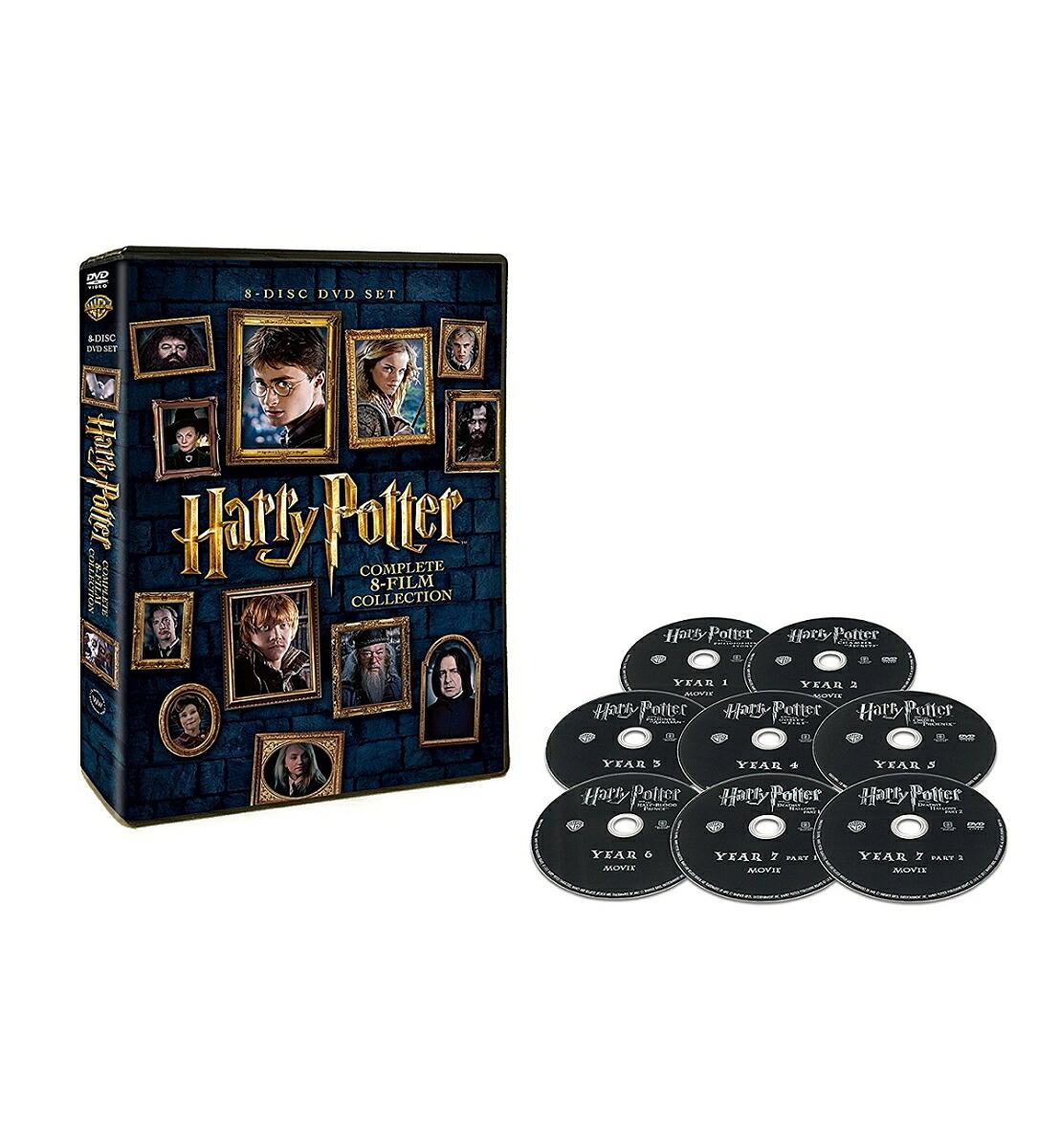 ハリー・ポッター 8-Film DVDセット[1000638985][DVD] 製品画像