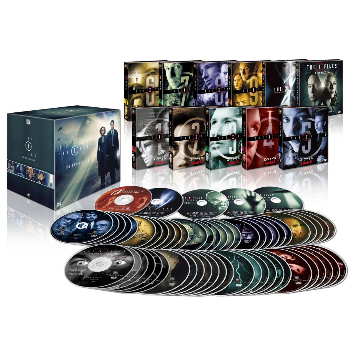 X-ファイル コンプリート DVD-BOX(「X-ファイル 2016」付)[FXBA-80252][DVD] 製品画像