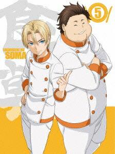 食戟のソーマ Vol.5〈初回生産限定版〉[1000573360][DVD]