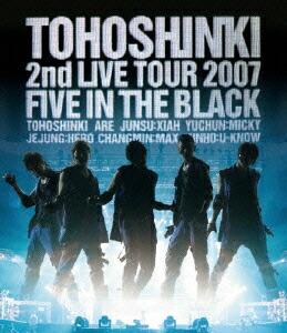 Blu-ray Disc「東方神起 2nd LIVE TOUR 2007 〜Five in The Black〜」[RZXD-46737][Blu-ray/ブルーレイ]