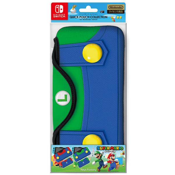 クイックポーチコレクション for Nintendo Switch(SUPERMARIO) CQP-002-2 [Type-B]