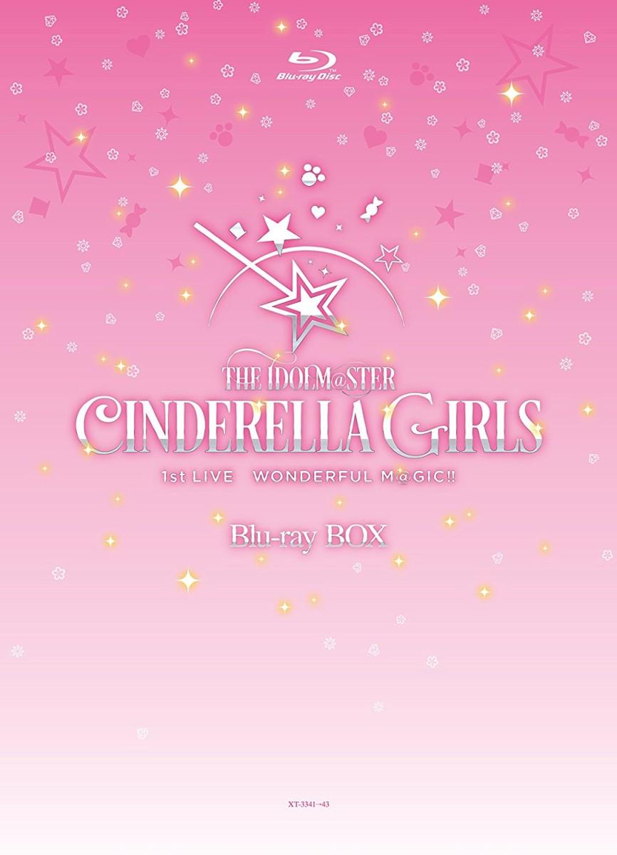 THE IDOLM@STER CINDERELLA GIRLS 1stLIVE WONDERFUL M@GIC!! Blu-ray BOX[XT-3341/3][Blu-ray/�u���[���C]