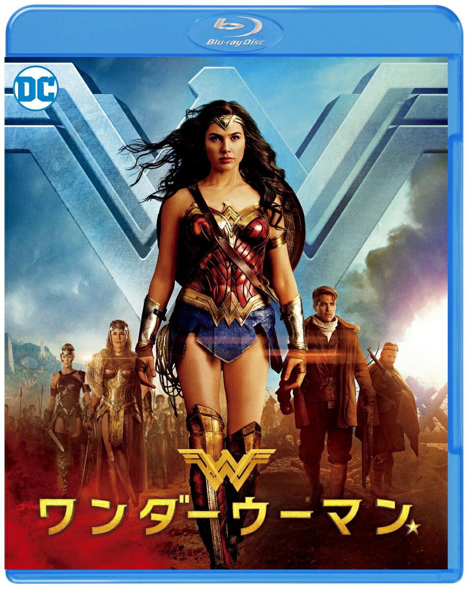 ワンダーウーマン ブルーレイ&DVDセット[1000698089][Blu-ray/ブルーレイ] 製品画像