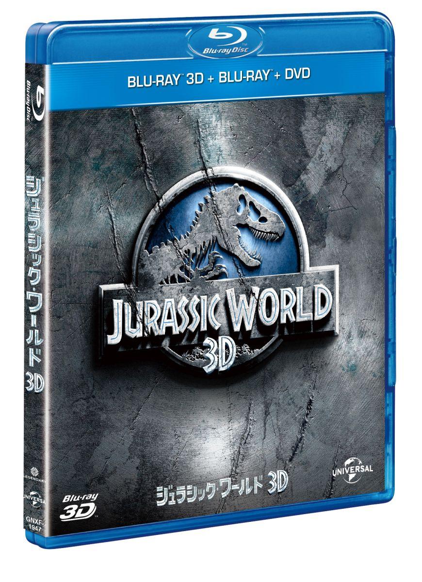 洋画 ジュラシック・ワールド3D ブルーレイ&DVDセット(ボーナスDVD付)[GNXF-1947][Blu-ray/ブルーレイ]
