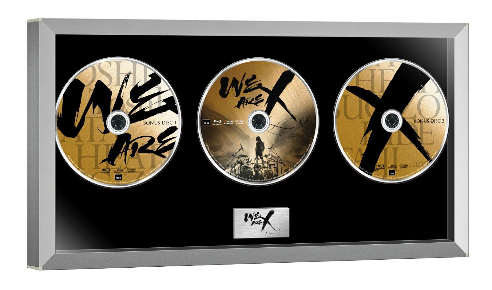 WE ARE X Blu-ray コレクターズ・エディション(3枚組)[TBR-27344D][Blu-ray/ブルーレイ]