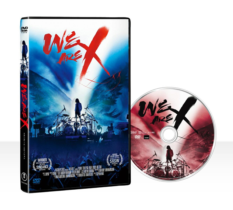 洋画 WE ARE X DVD スタンダード・エディション[TDV-27349D][DVD]