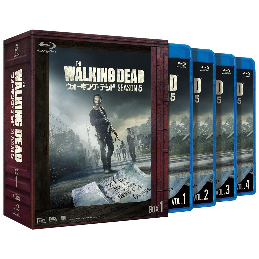 ウォーキング・デッド5 Blu-ray-BOX1[DAXA-4866][Blu-ray/ブルーレイ] 製品画像