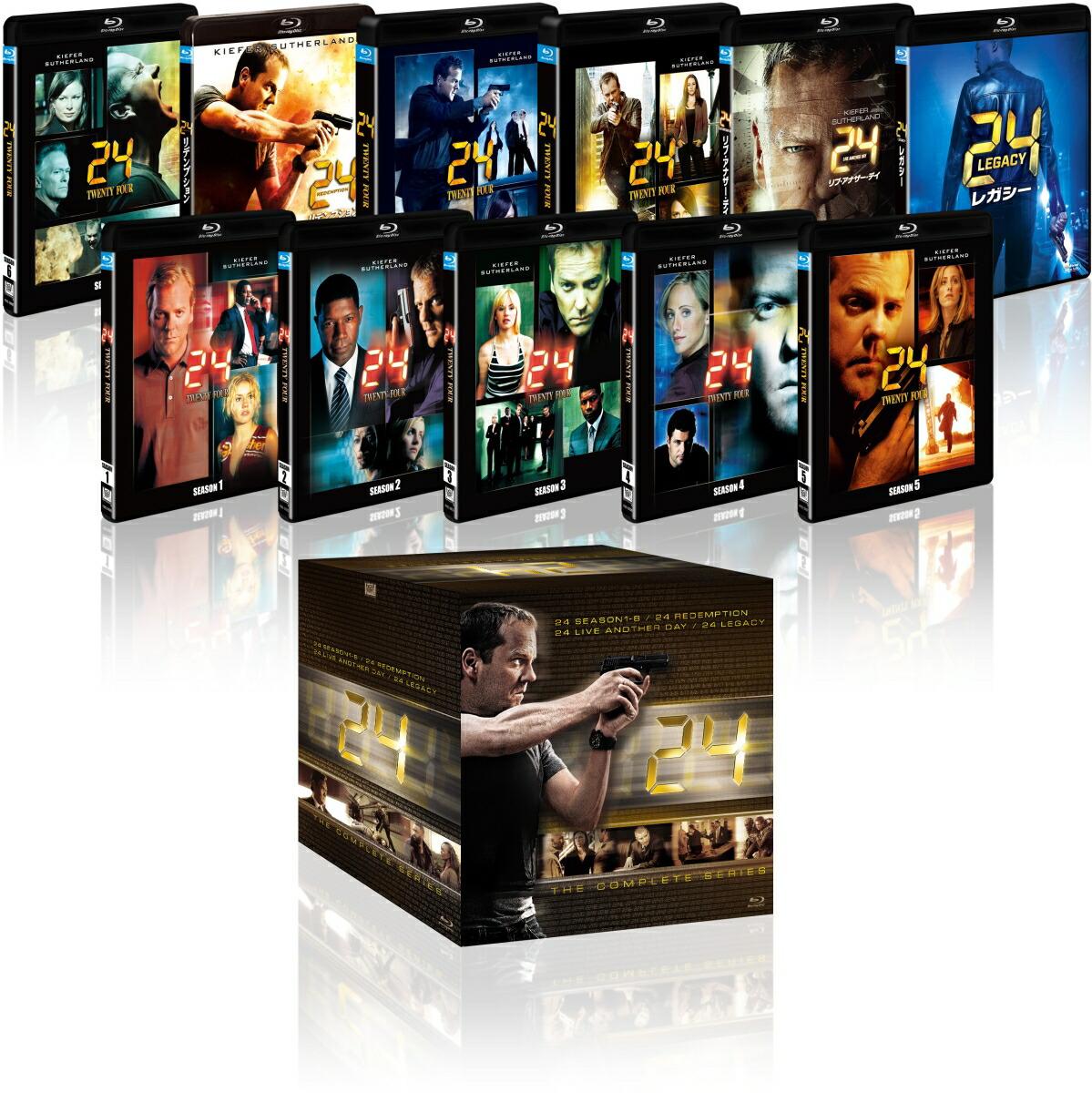 24-TWENTY FOUR- コンプリート ブルーレイBOX(「24-TWENTY FOUR- レガシー」付)[FXXSA-85705][Blu-ray/ブルーレイ]