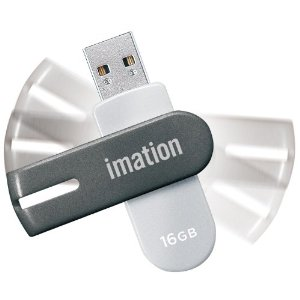 Flash Drive NANO-f UFDNFE16GSL [16GB �V���o�[]