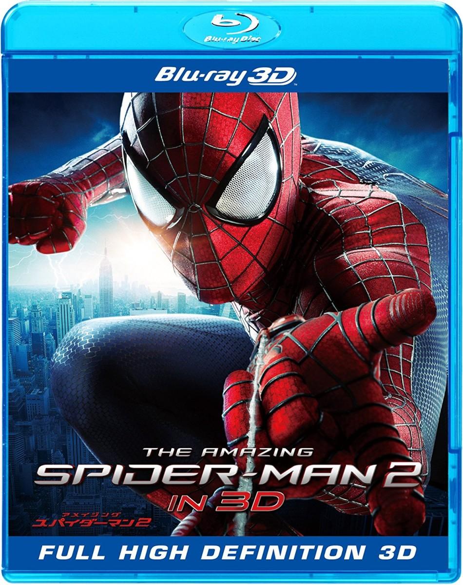 アメイジング・スパイダーマン2TM IN 3D(3D&2D ブルーレイセット)[BRD-80400][Blu-ray/ブルーレイ]