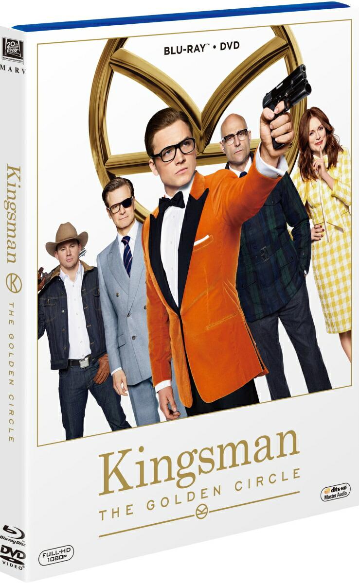 キングスマン:ゴールデン・サークル 2枚組ブルーレイ&DVD[FXXF-69789][Blu-ray/ブルーレイ] 製品画像