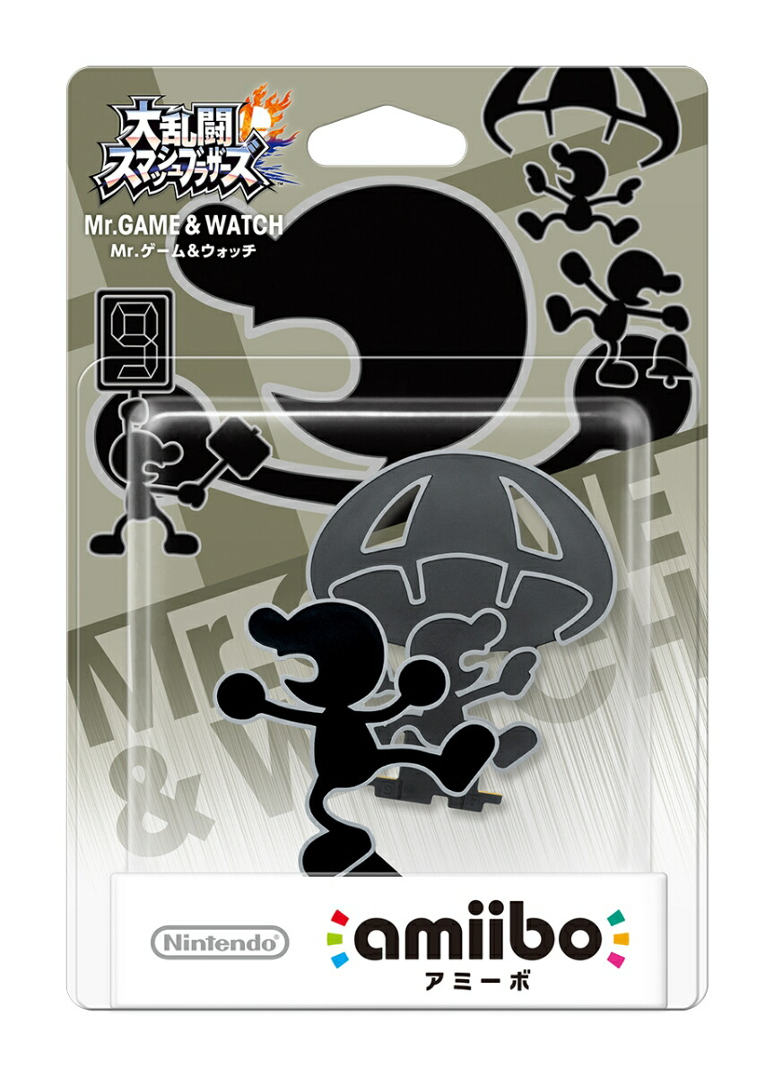 amiibo NVL-C-AABX [Mr.ゲーム&ウォッチ(大乱闘スマッシュブラザーズシリーズ)]