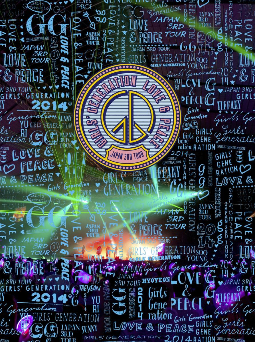 GIRLS' GENERATION �`LOVE&PEACE�` Japan 3rd Tour(��������)[UPXH-29005][Blu-ray/�u���[���C]