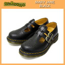 8065 postage, collect on delivery fee free regular dealer Dr.Martens doctor Martin MARY JANE Mary Jane BLACK black Lady's