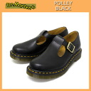 Postage, collect on delivery fee free regular dealer Dr.Martens doctor Martin POLLEY Pauley BLACK black Lady's in Japan