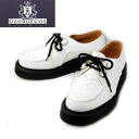 666 authorized agent GeorgeCox George coxswain D rubber sole Dace V GIBSON double name white leather fs3gm