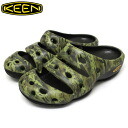 Regular dealer KEEN( Kean) MEN YOGUI ARTS SANDAL( men yogi arts sandals) CAMO GREEN KN002
